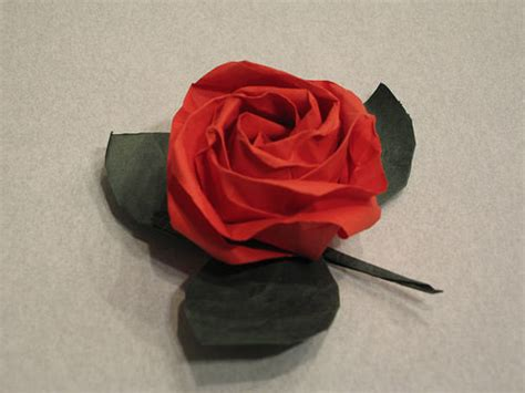 Folded Paper Roses - 70 origamis incre 237 bles