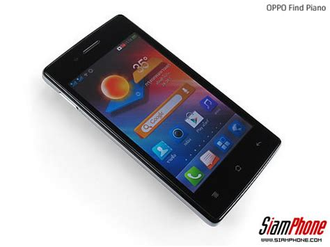 Hp Oppo Oppo Find Piano R8113 sihone ร ว วโทรศ พท ม อถ อ oppo find piano review ออปโป find piano r8113