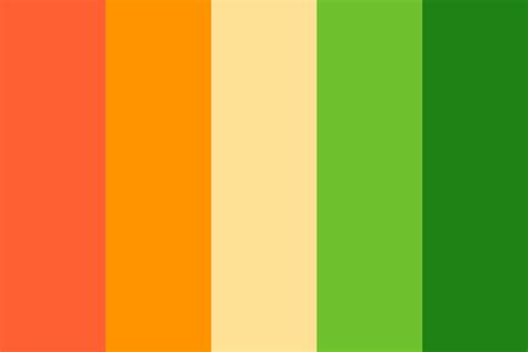 what are thanksgiving colors thanksgiving pumpkin color palette