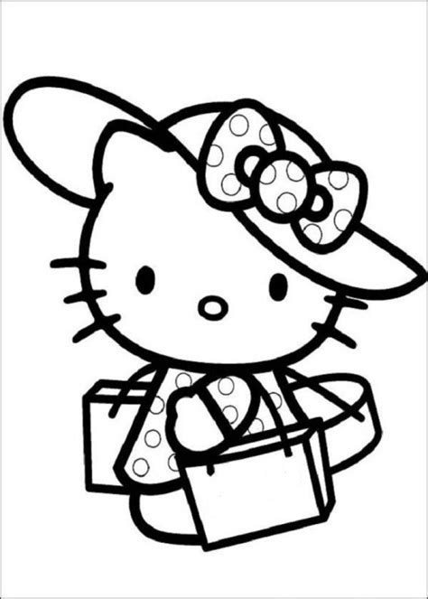 hello kitty coloring pages online to print hello kitty coloring pages to color online hd printable