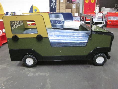 Jeep Car Bed by Boys Car Beds Safari Jeep Bed Truck Bed With Moving Wheels