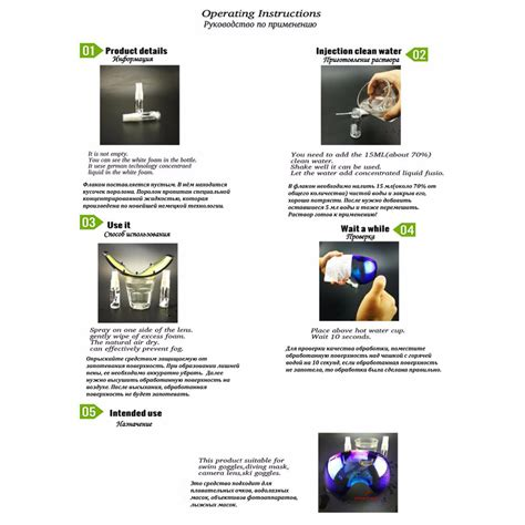 Spray Pembersih Kacamata semprotan kacamata diving anti fog effect spray lens cleaner jakartanotebook
