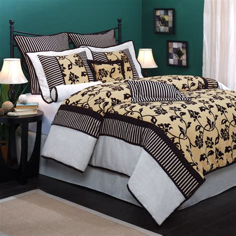 tan and white comforter set rhapsody 7 piece bedding comforter set black white tan