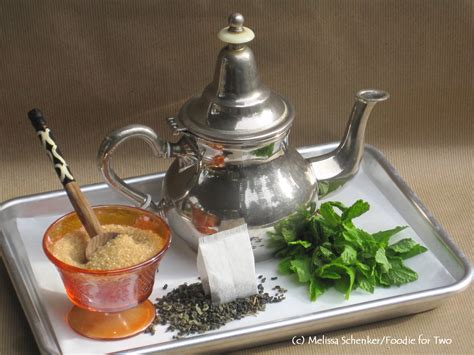 moroccan mint tea a cookie with many names foodie for two
