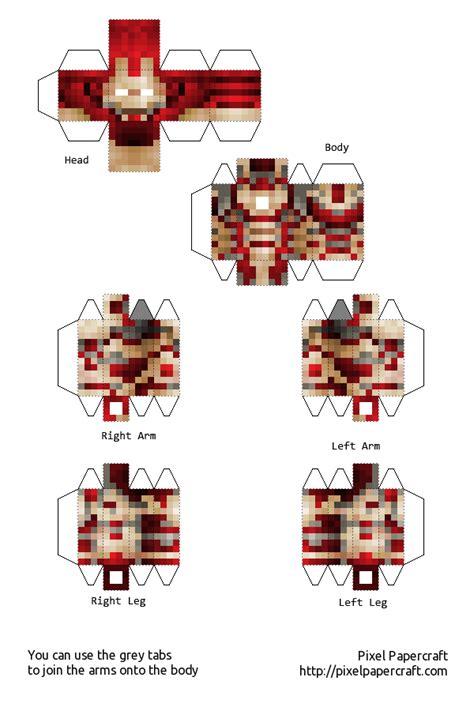 Ironman Papercraft - papercraft iron mk42