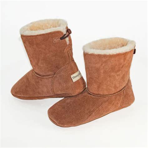 boot slipper sheepskin slipper boots