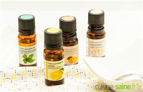 huile cuisine huiles essentielles en cuisine comment les utiliser