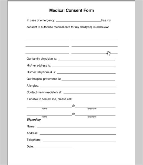 sle medical authorization form business letter template