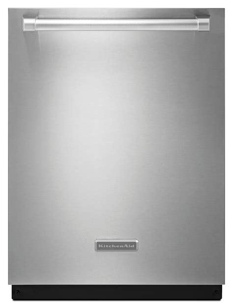 kitchenaid kdte404dsp 24 in built in dishwasher w