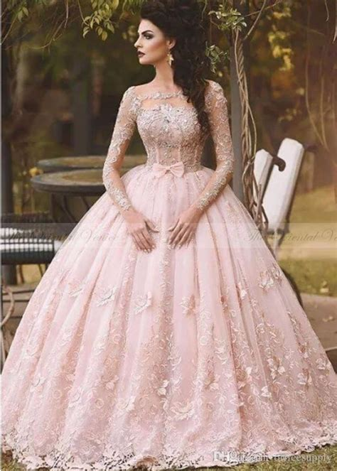 Dresslong Dress Cerry Black Diskon discount vestido de novia 2017 country blush pink lace