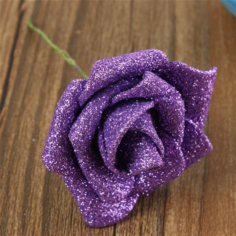 Handmade Foam Flowers - other gadgets 6 colors artificial diy nosegay