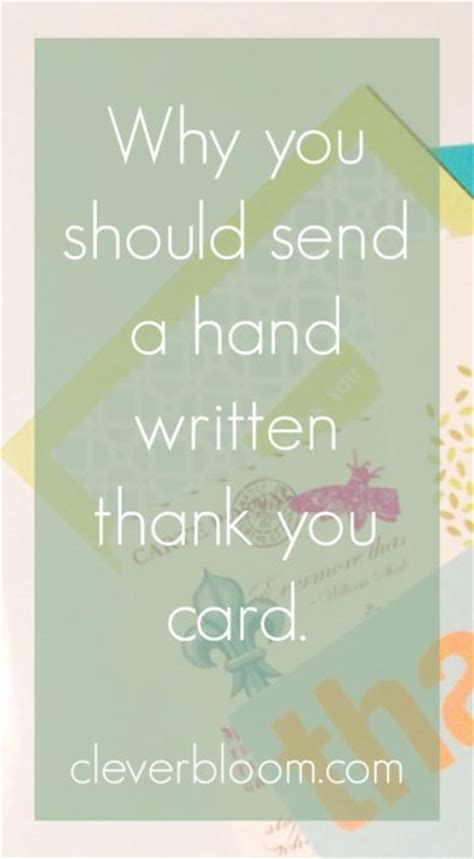when should you send thank cards after a wedding why you should send a written thank you card clever bloom