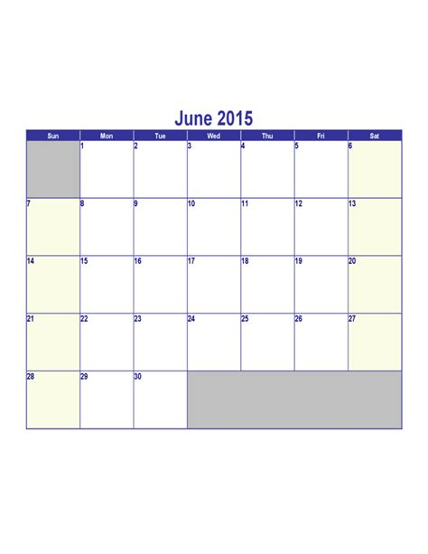 June 2015 Calendar June And July 2015 Calendar Www Imgkid The Image