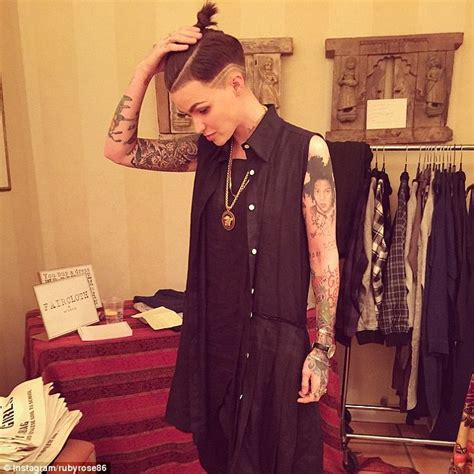 ruby rose instagram ruby rose in s m inspired face chains as nylon cover girl