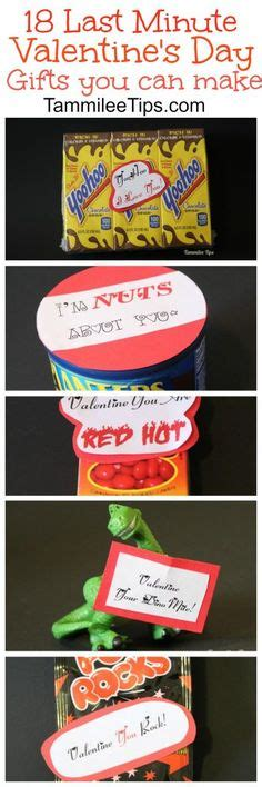 last minute valentines gifts for him simple diy s day gift for him or