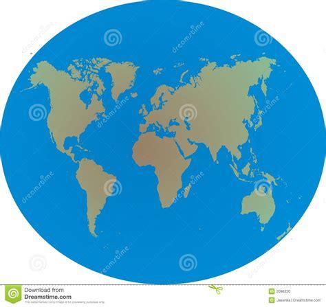 world map  globe stock vector illustration