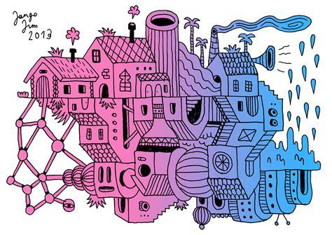 doodle city the explorations of jangojim jango doodles 1 city chaos