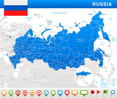 russia tourism map russia map guide of the world