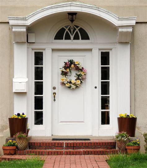 white front door choose your best feng shui front door color