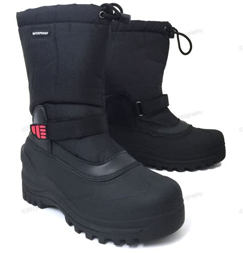boots for winter mens mens winter boots 10 quot insulated waterproof
