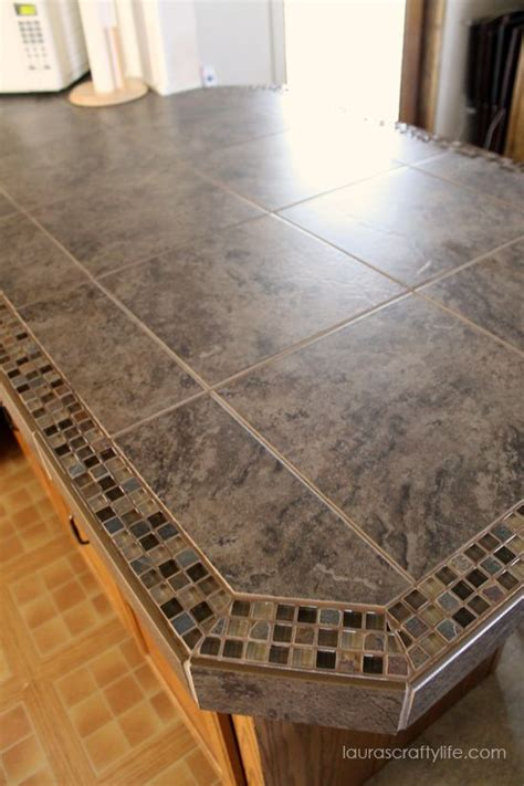 granite tile bar top kitchen makeover final reveal part one life kitchen