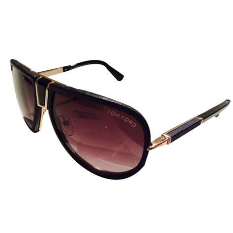 Tome Sunglasses tom ford sunglasses sunglasses leather black ref 16799