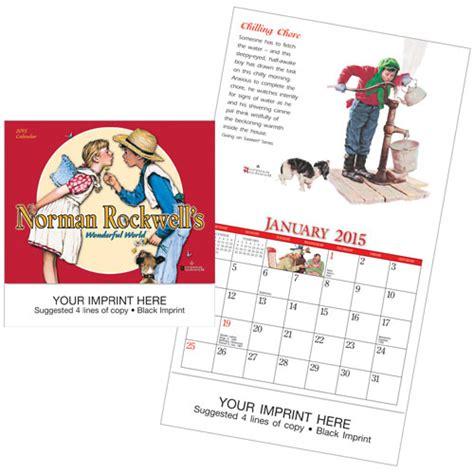 Wonderfully Whimsical Calendars by Norman Rockwell S Wonderful World Calendar Promotional