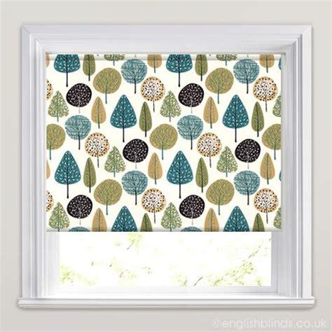 green patterned roller blind 25 best ideas about teal roller blinds on pinterest