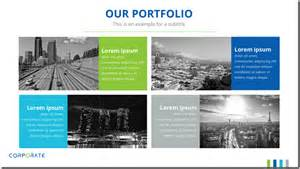 portfolio presentation template how to choose a powerpoint template for your presentation