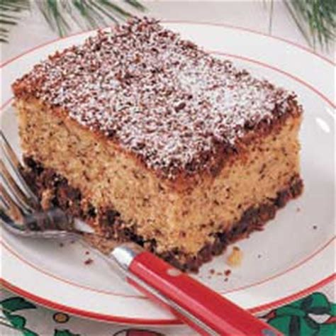 chocolate chip snack cake recipe taste of home