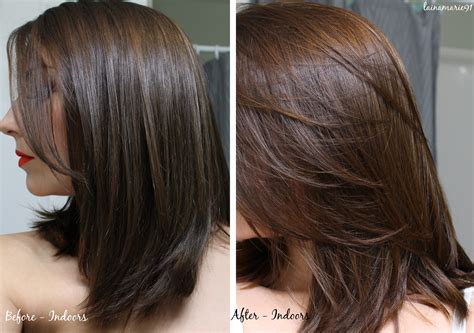 Henna Before And After | lainamarie91 lush caca rouge henna hair dye before