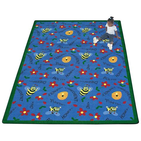 daycare rug carpets bee attitudes area rug daycare rugs at hayneedle