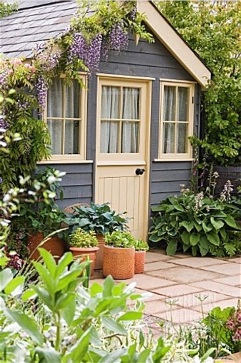 pretty shed painting your summer house eic 243 environmentally