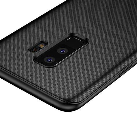 Samsung S9 Plus Softcase Carbon S9 Plus Cover Carbon S9 Plus olixar carbon fibre samsung galaxy s9 plus black