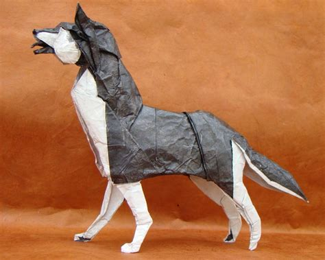Origami Husky - 135 best huskies i don t own images on gray