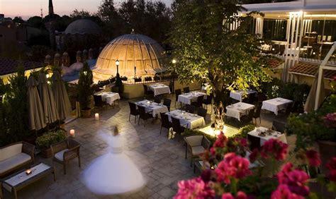ottoman hotel imperial istanbul turkey summer garden