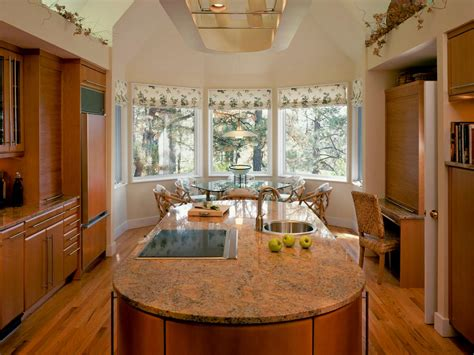 kitchen bay window treatment ideas modern kitchen window treatments hgtv pictures ideas