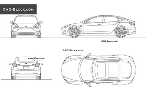 car templates for autocad cad blocks free download