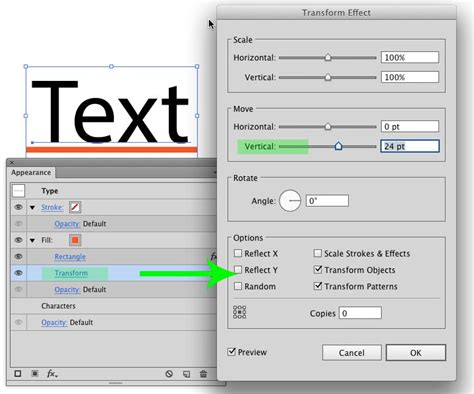 pattern options illustrator text customize strikethrough in illustrator graphic