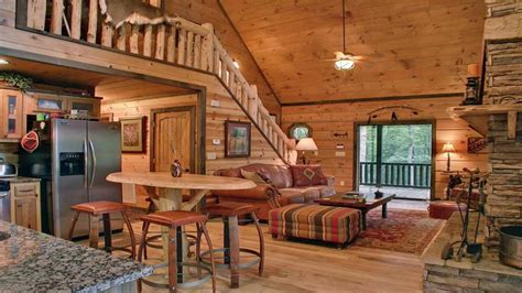 Cool House Layouts by Inside A Small Log Cabins Small Log Cabin Interior Design