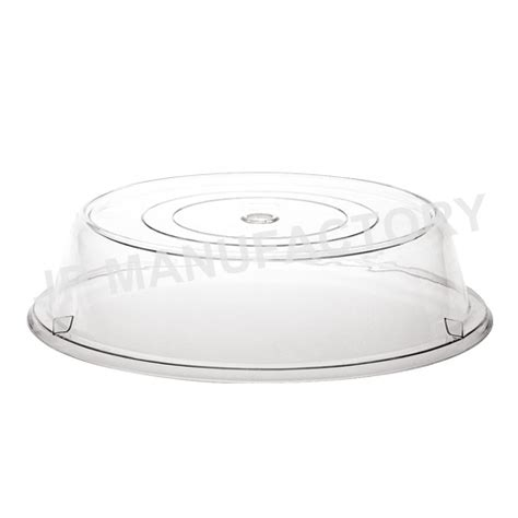 Plastic Food Cover restaurant or home use flip plastic dome