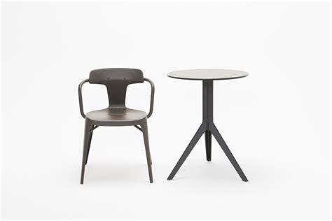 Chaise N 14 by N Coffee Table And T14 Chair By Norguet For