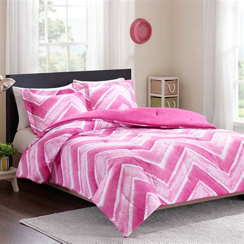 soft pink comforter beautiful modern soft pink white chevron stripe chic girls