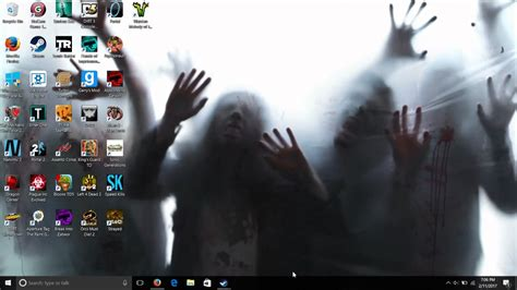 3d desktop zombies screen saver download zombie invasion section 3 youtube