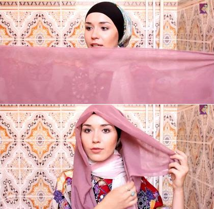 tutorial hijab wisuda simple paris tutorial hijab paris simple dan modis beserta gambar
