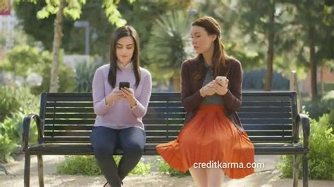 credit karma commercial actress talking to websites credit karma tv commercials ispot tv