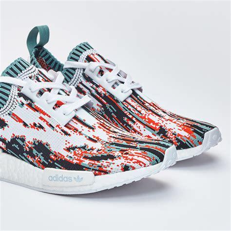 adidas nmd r1 primeknit adidas nmd r1 primeknit datamosh pack sneaker bar detroit