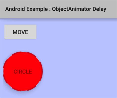 layout animation objectanimator android code snippets july 2015