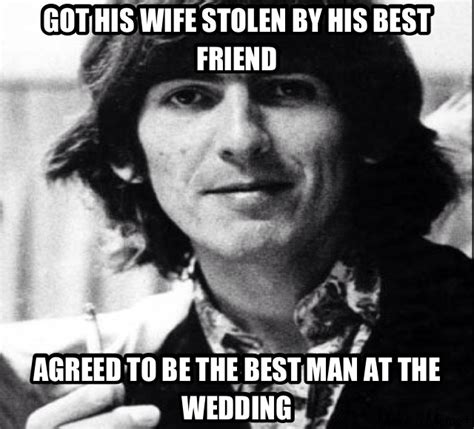 George Meme - george harrison meme