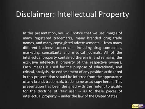 Drug Advertising Tactics Real Estate Disclaimer Template